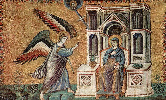 Dzieło Pietra Cavalliniego wSanta Maria in Trastevere