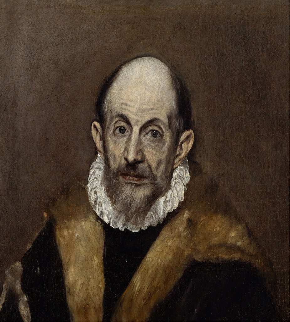 Domniemany autoportret El Greca, Metropolitan Museum of Art