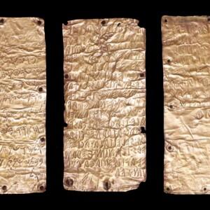 Zapisane na złocie. Etrusko-fenickie inskrypcje z Pyrgi
