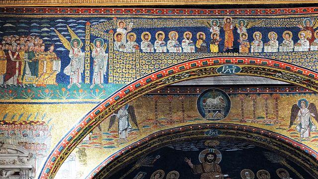 Santa Prassede, fot. Luciano Tronati / Wikimedia Commons, CC BY-SA 4.0