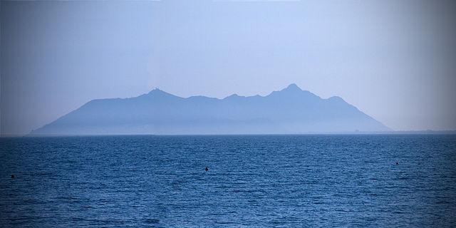 Widok na Monte Circeo