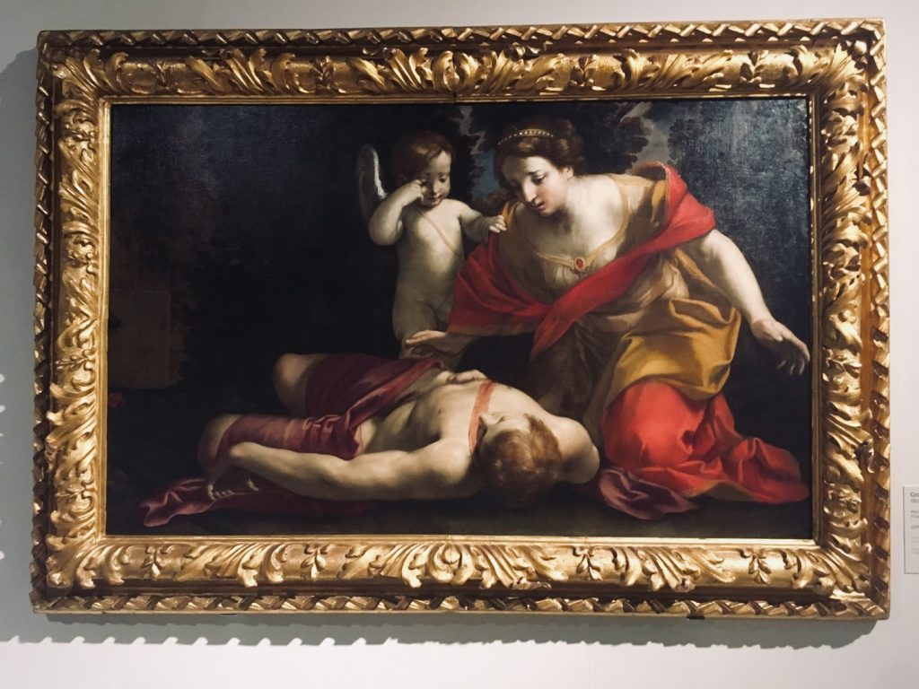 Giovan Francesco Gessi, Śmierć Adonisa, ok. 1639