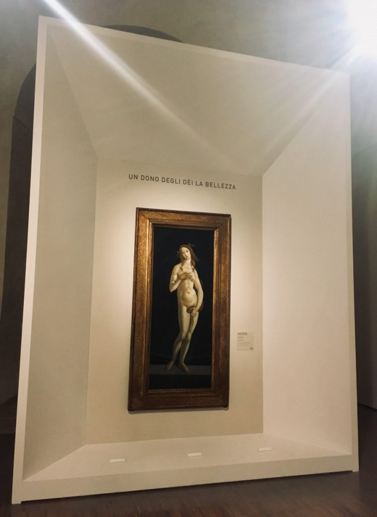 Sandro Botticelli, Wenus wstydliwa, 1485-1490