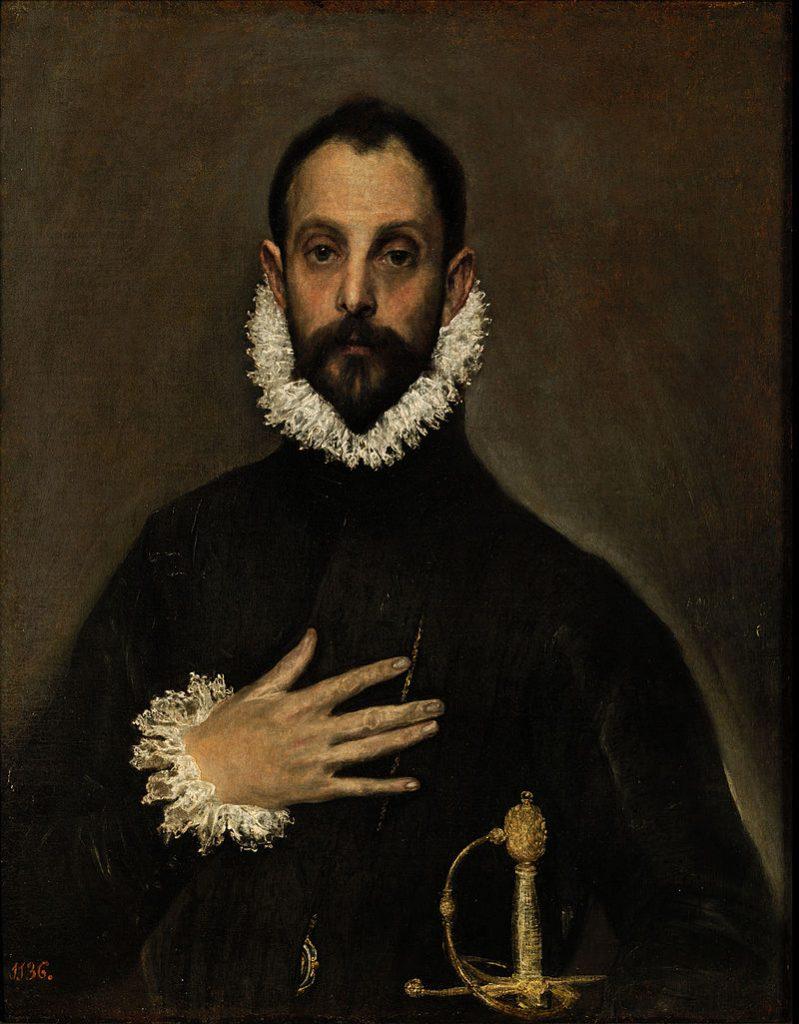 Portret szlachcica zręką złożoną na piersi lub Przysięga szlachcica lub Szlachcic zdłonią na piersi