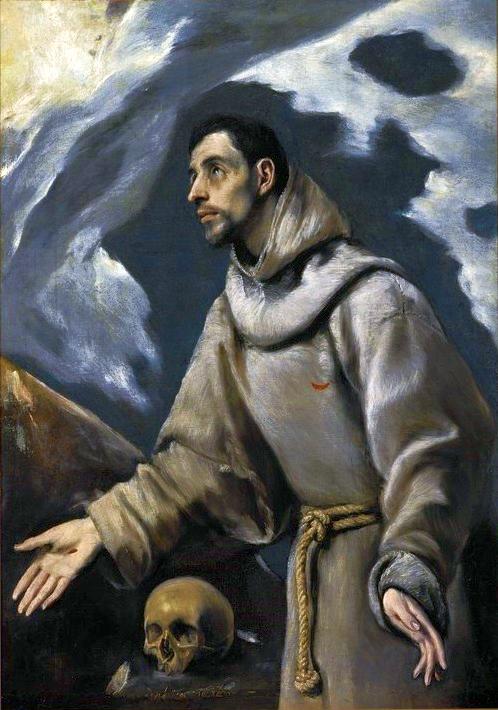 Ekstaza św. Franciszka El Greca