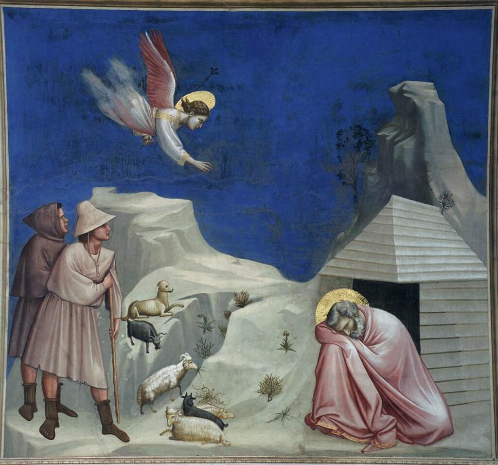 Sen Joachima pędzla Giotta