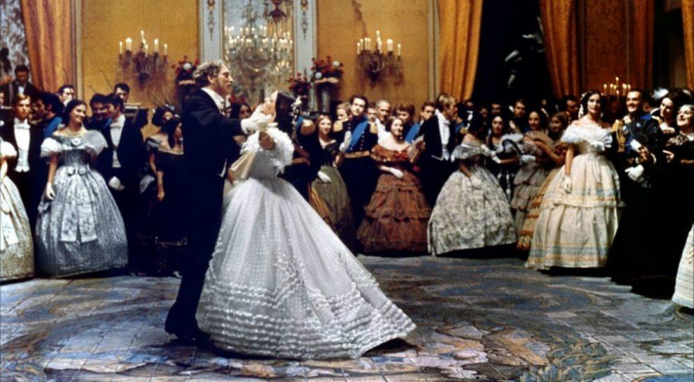 Słynna scena balu wfilmie Lampart