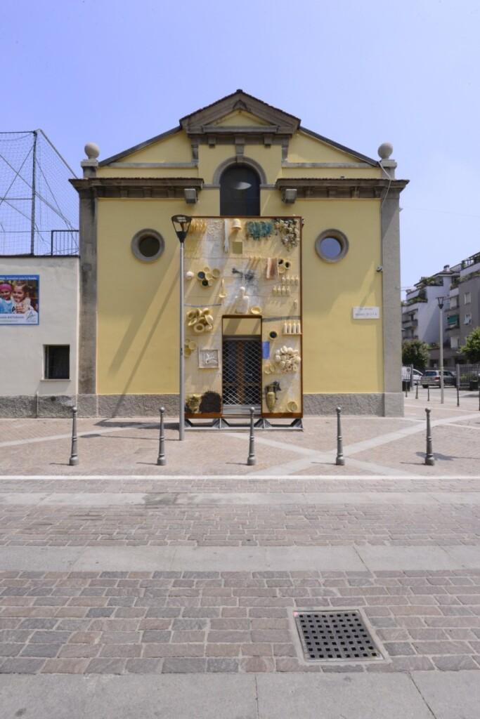 Pełne symboliki wejście do Refettorio