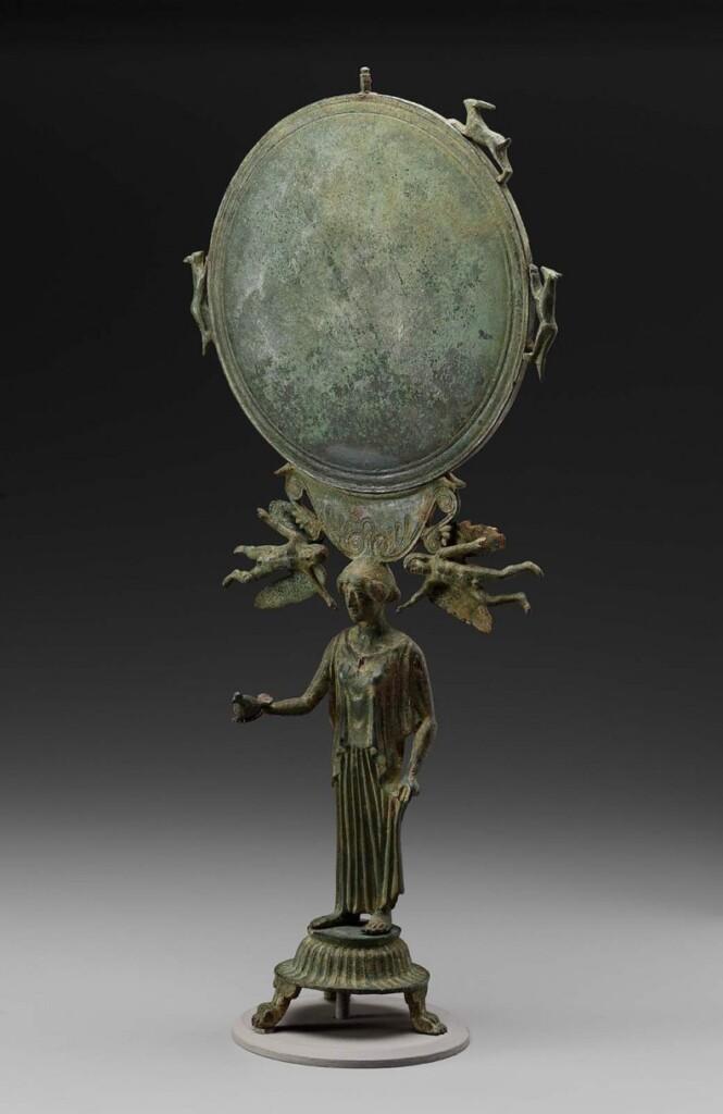 Lustro greckie stojące (Museum of Fine Arts Boston)