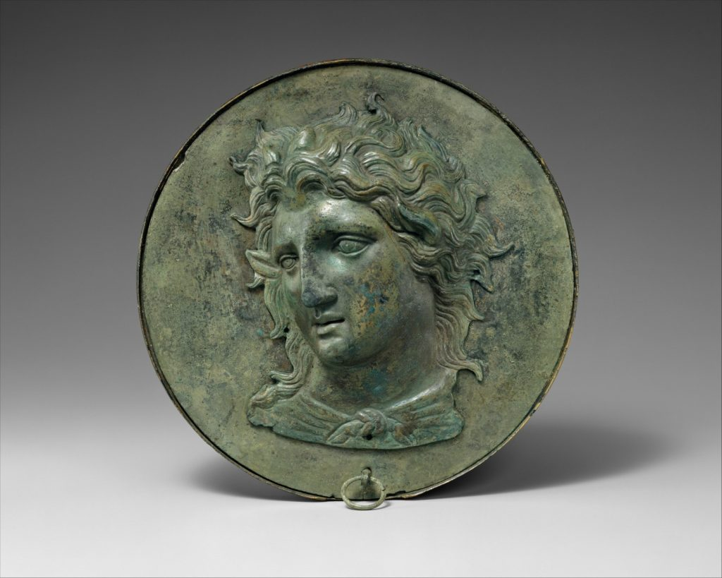 Pokrywka zlustra pudełkowego (Metropolitan Museum of Art)