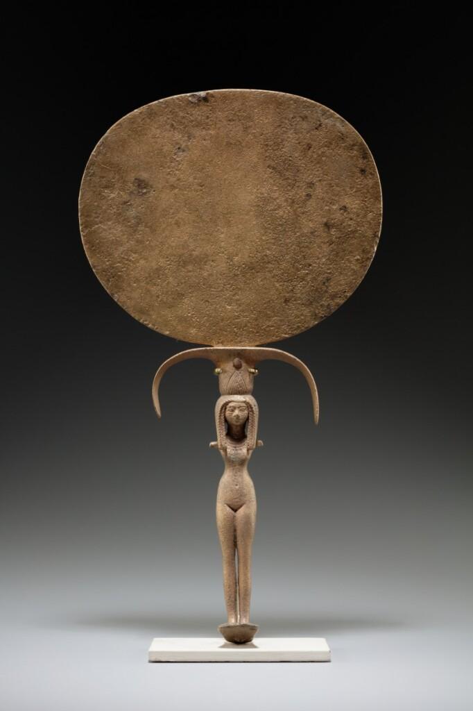 Zwierciadło egipskie wMetropolitan Museum of Art