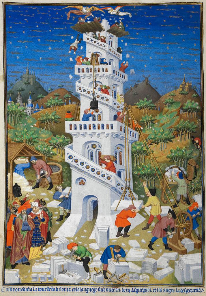 miniatura zGodzinek księcia Bedford