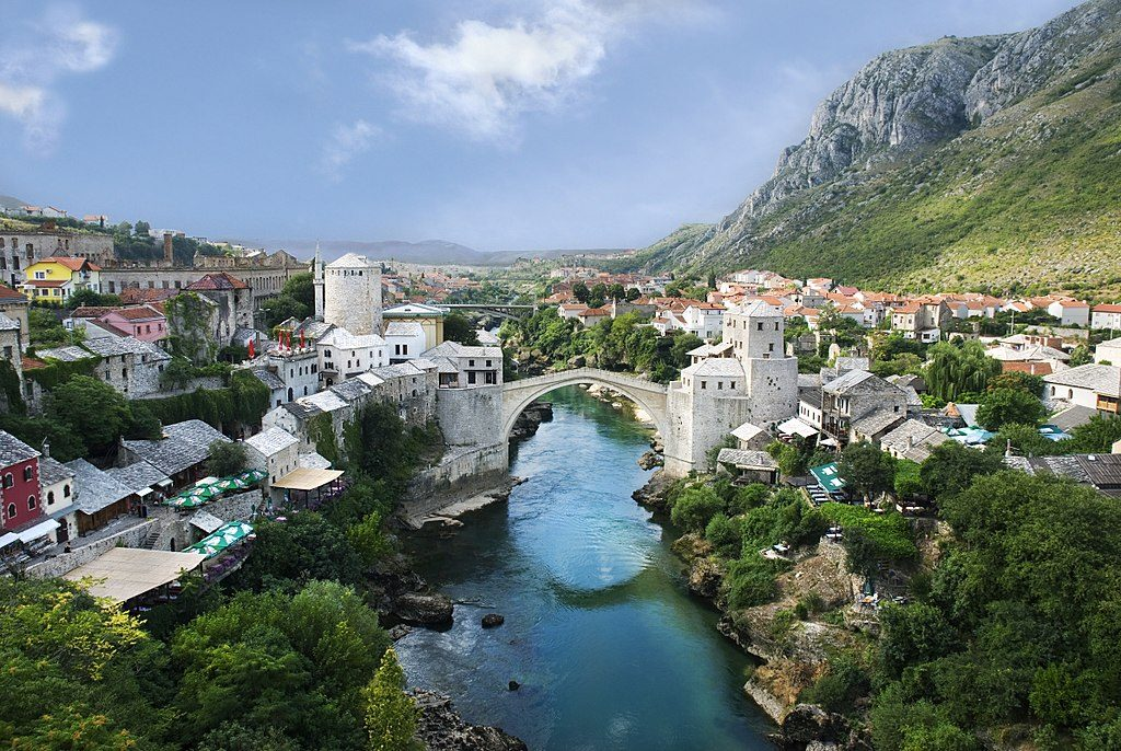 Mostar, fot. / Wikimedia Commons, CC BY-SA 4.0
