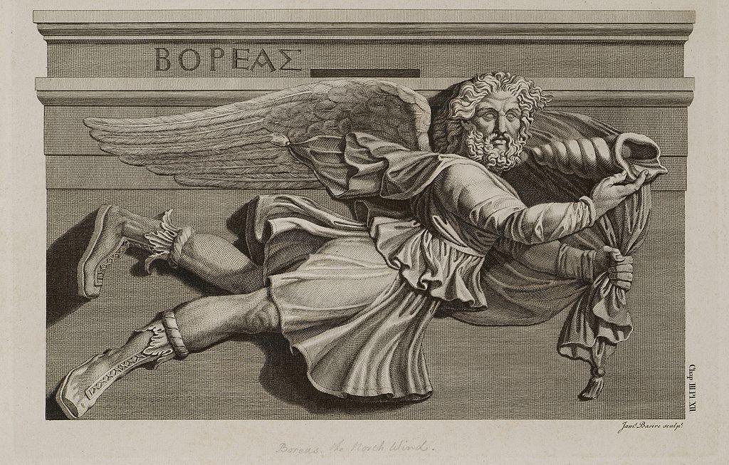 Boreasz wg Jamesa Stuarta iNicholasa Revetta, 1794 r.