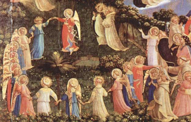Tańczące anioły Fra Angelica