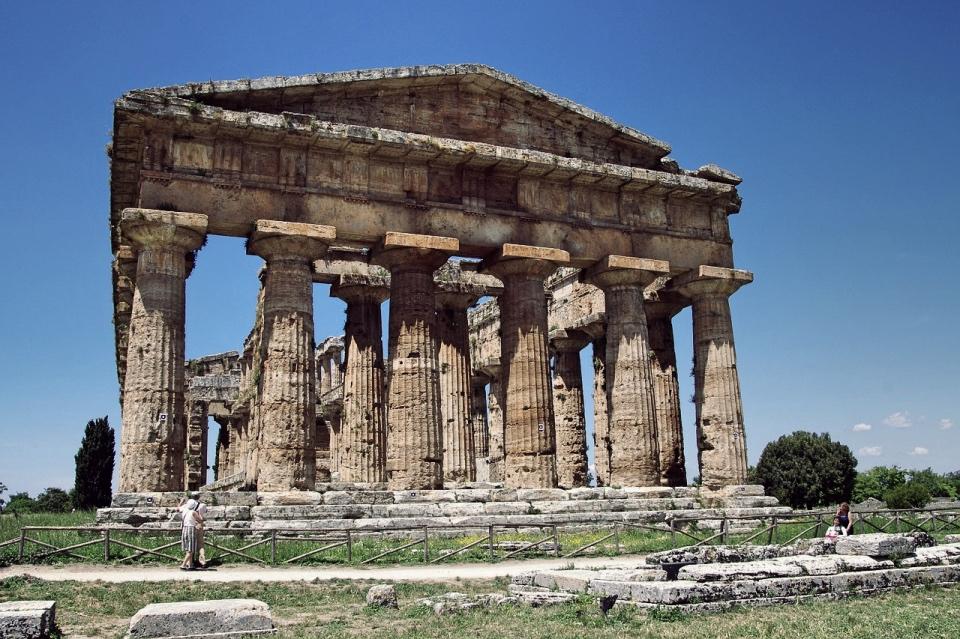 Dorycka świątynia wPaestum