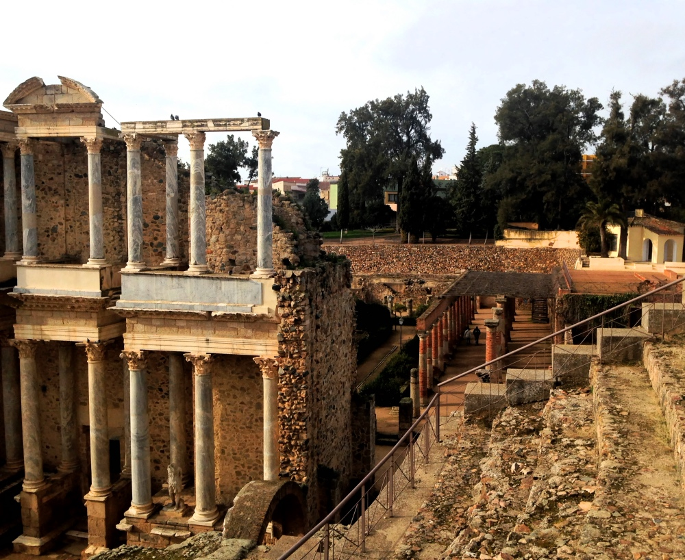 Merida bywa nazywana hiszpańskim Rzymem.