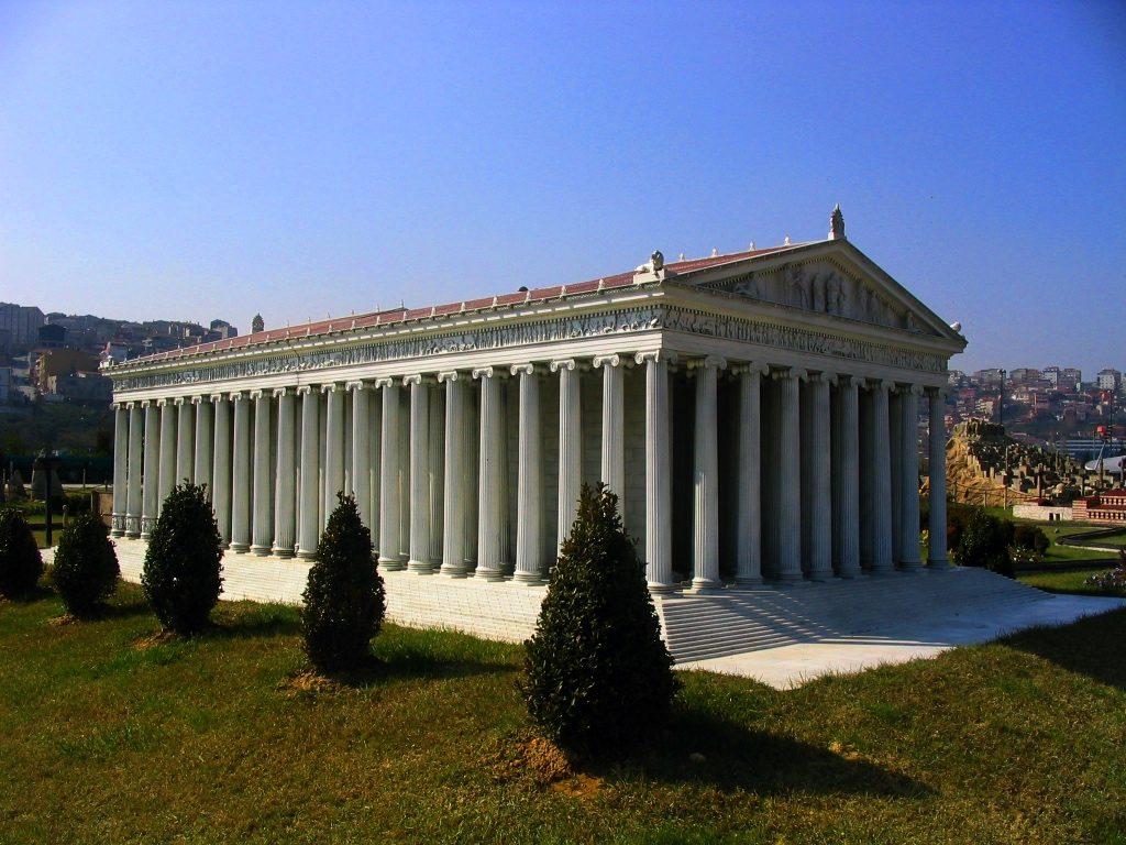 Rekonstrukcja Artemizjonu wparku Miniatürk wStambule, fot. Zee Prime / Wikimedia