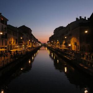Navigli w Mediolanie