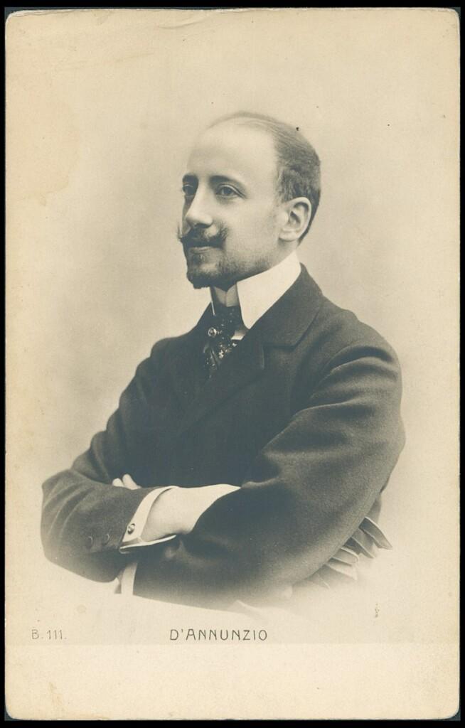 Gabriele d'Annunzio (zdjęcie sprzed 1914 r.)