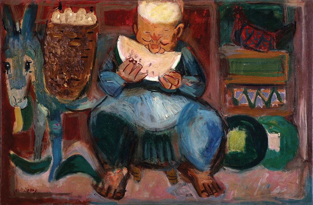 Wiele dzieł poświęcił arbuzom Nachum Gutman