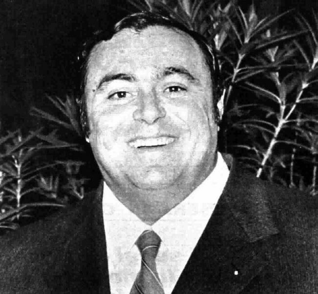 Luciano Pavarotti w1972 roku.