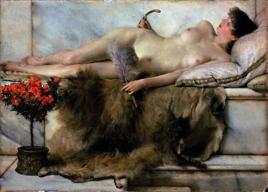 Tepidarium pędzla Lawrence_Alma-Tademy (1836-1912)