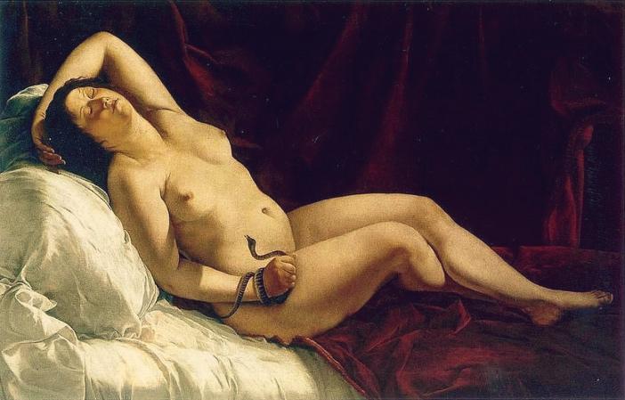 Artemisia Gentileschi, Kleopatra (1613 lub 1621-1622)
