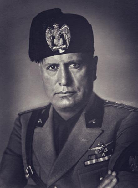 Mussolini w1930 r.