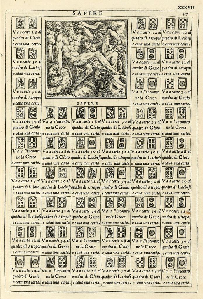 Le sorti di Francesco Marcolino, 1540