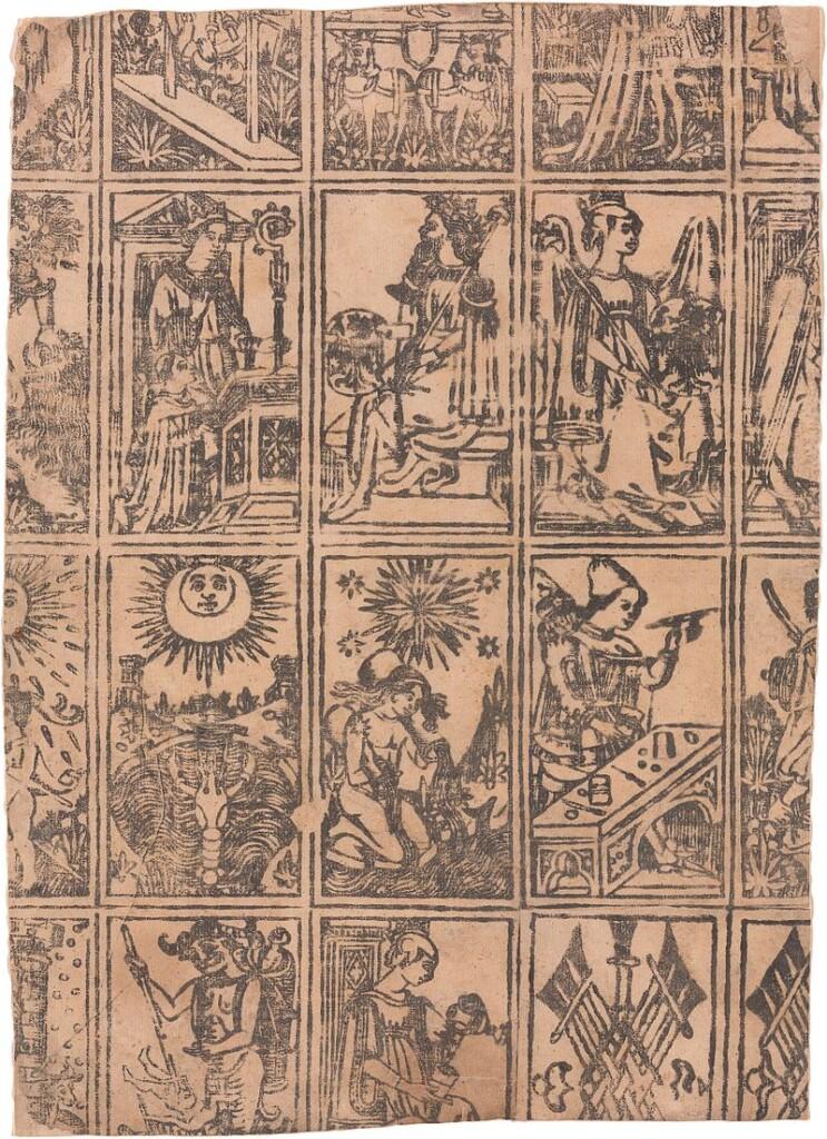 Tarot marsylski, ok. 1500 r.