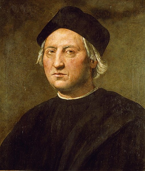 Portret Krzysztofa Kolumba widzianego oczami Ridolfa del Ghirlandaio (1520)