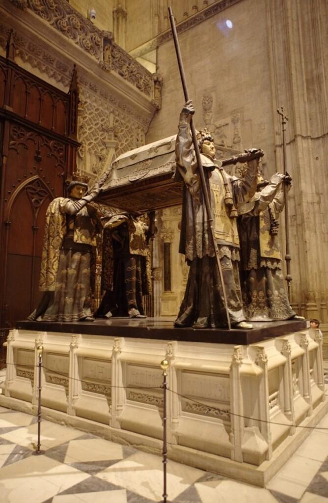 Grobowiec Kolumba wSewilli, fot. Jakub Klawiter / Wikimedia Commons, CC BY-SA 4.0