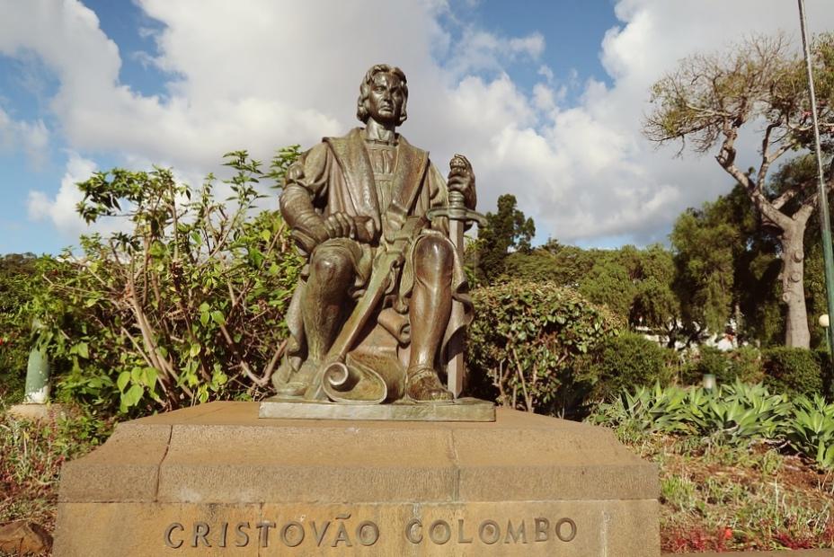 Pomnik Kolumba na Maderze