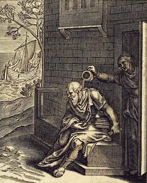 Sokrates iKsantypa – rycina Otto van Veena