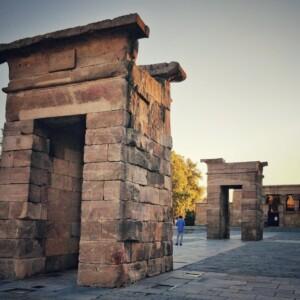 Świątynia Debod w Madrycie, fot. Uri Wollner