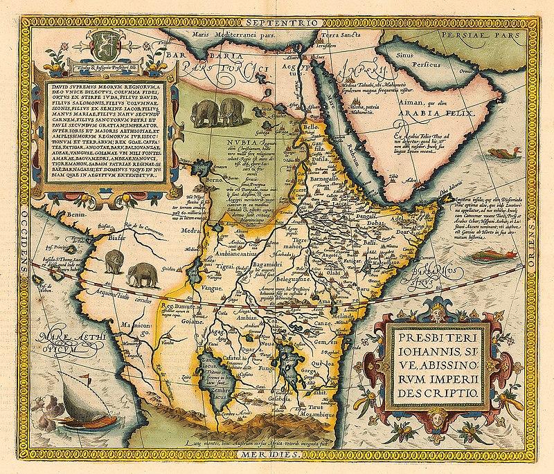 Mapa Janowego królestwa jako Etopii