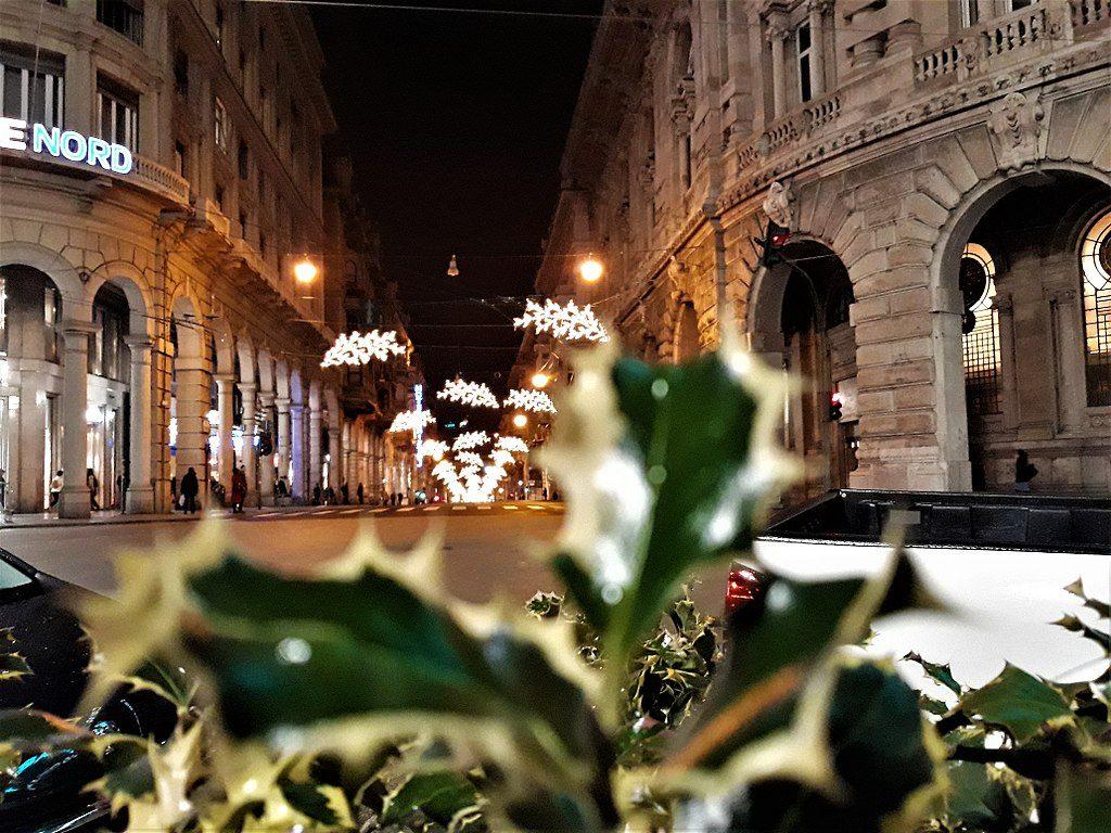 Genua, widok na Via XX Settembre zPiazza De Ferrari