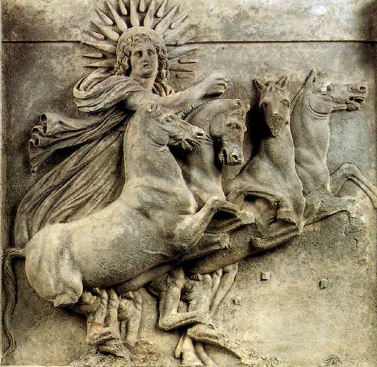 Trojański relief zwizerunkiem Heliosa, dziś do obejrzenia wBerlinie