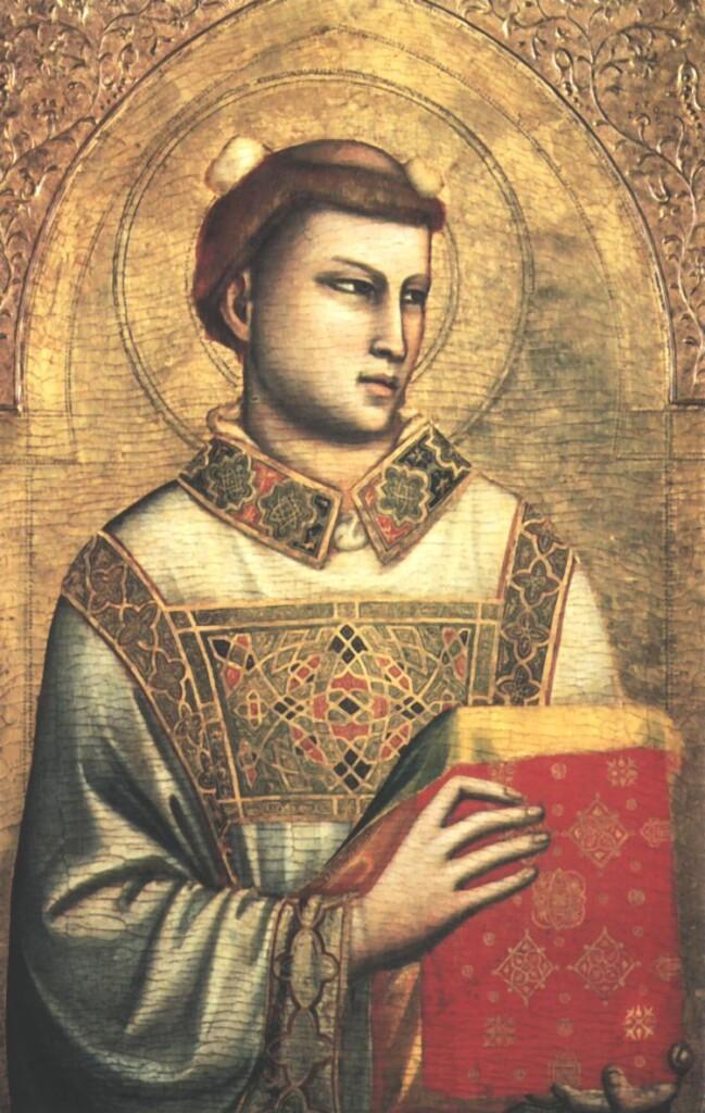 Święty Szczepan widziany oczami Giotta di Bondone