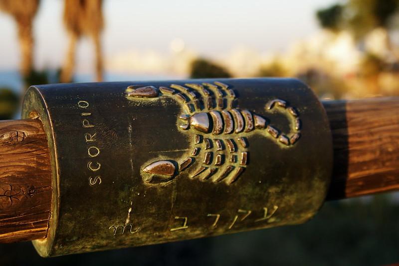 Skorpion na moście życzeń wJafo, fot. Shayan / Flickr