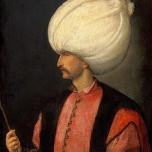 Sulejman na portrecie anonimowego mistrza