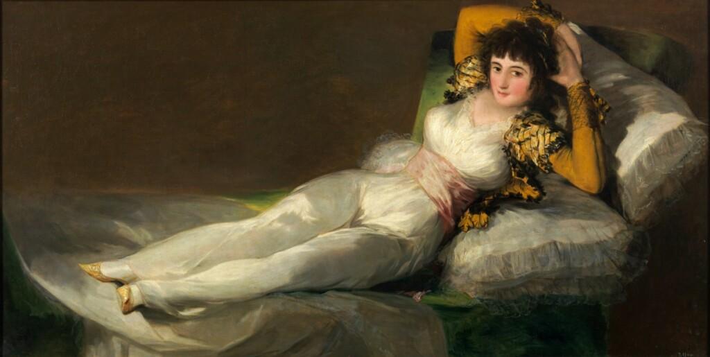 Maja desnuda, Muzeum Prado wMadrycie