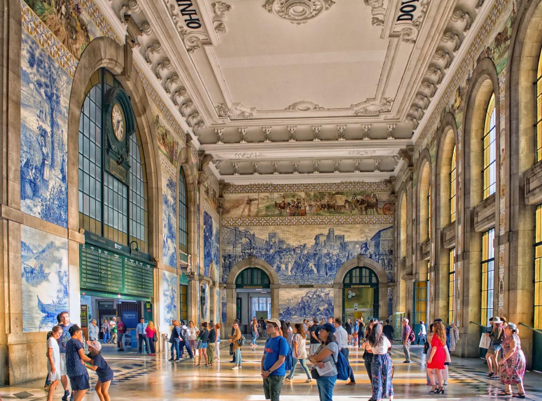 Dworzec Estação ferroviária de São Bento, fot. Ray in Manila / Flickr, CC BY 2.0