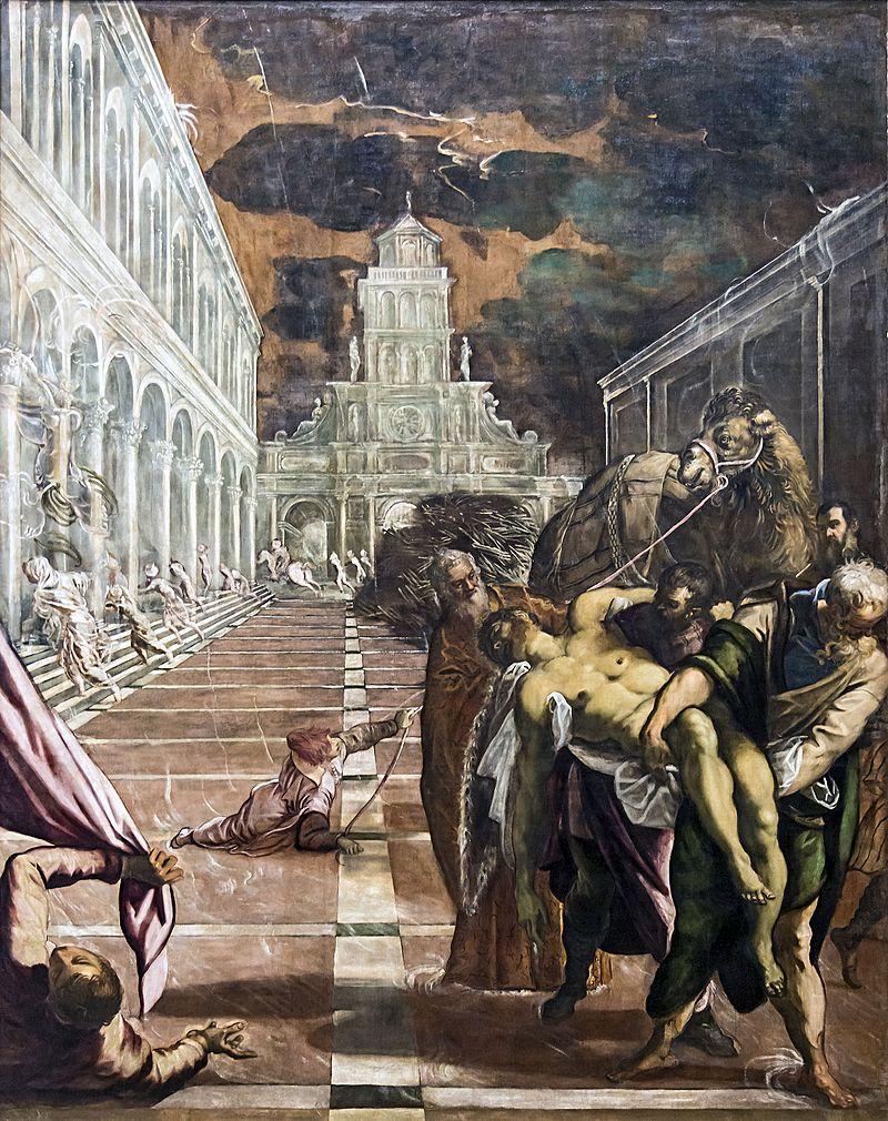 Przeniesienie ciała św. Marka (Wykradzenie ciała św. Marka) – obraz Jacopa Tintoretta