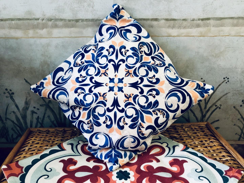 Poszewka na poduszkę Lizbona ze sklepu Lente (do kupienia tutaj)