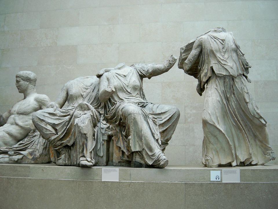 Greckie marmury wBritish Museum