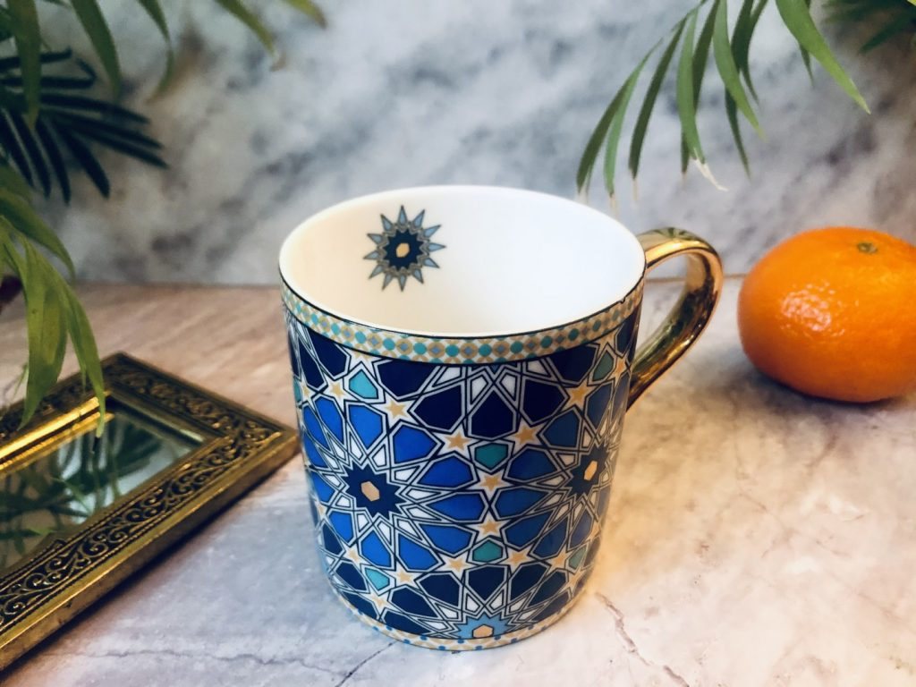 kubek Alhambra azul
