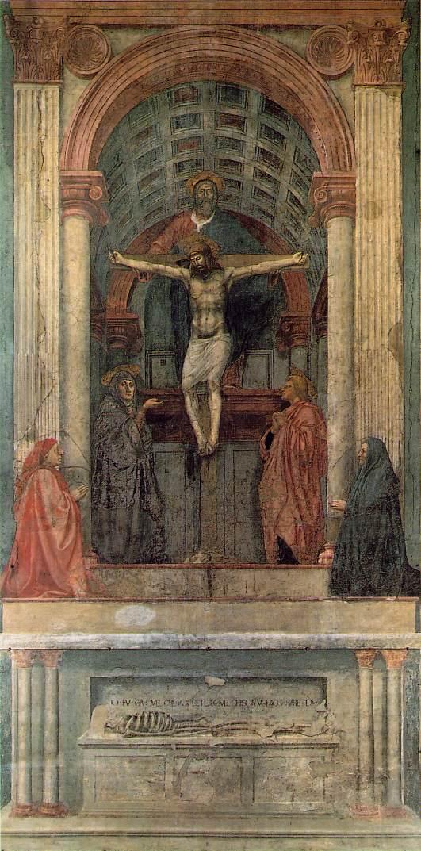 Trójca Święta Masaccia