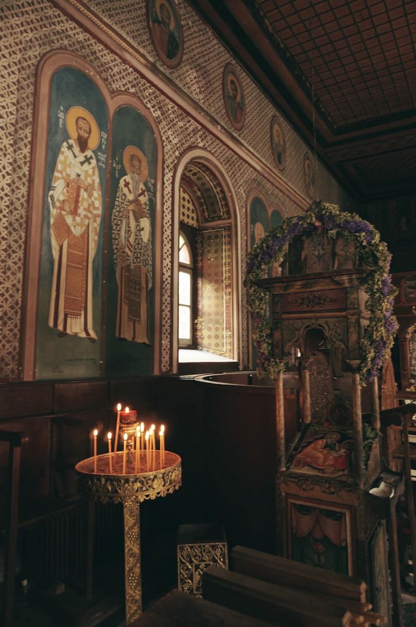 Klasztor Ypsilou na Lesbos, fot. Michał Kubicz
